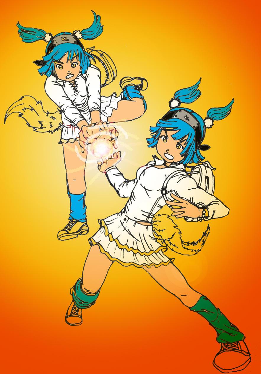 Alodia's Rasengan no Jutsu by G3Tan