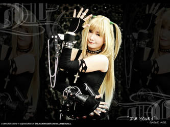 'I'm Yours' - amane misa by G3Tan
