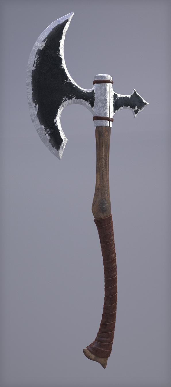 War axe by jimbizzle