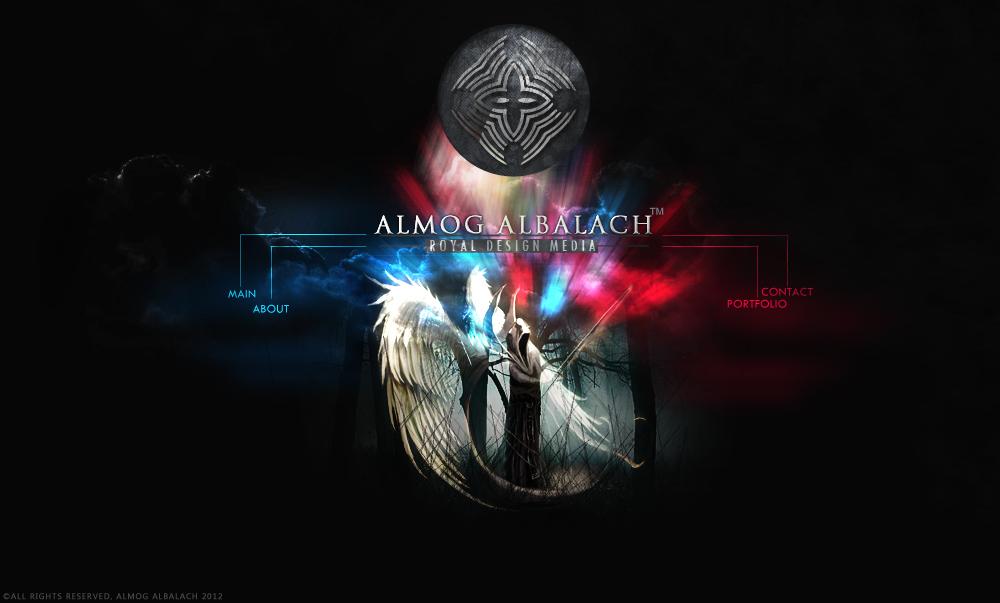 Almog Albalach dark forest site logo by enemia