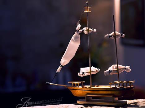 Little Wooden Betty boat