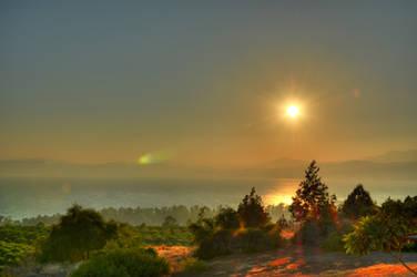Kineret landscape by enemia
