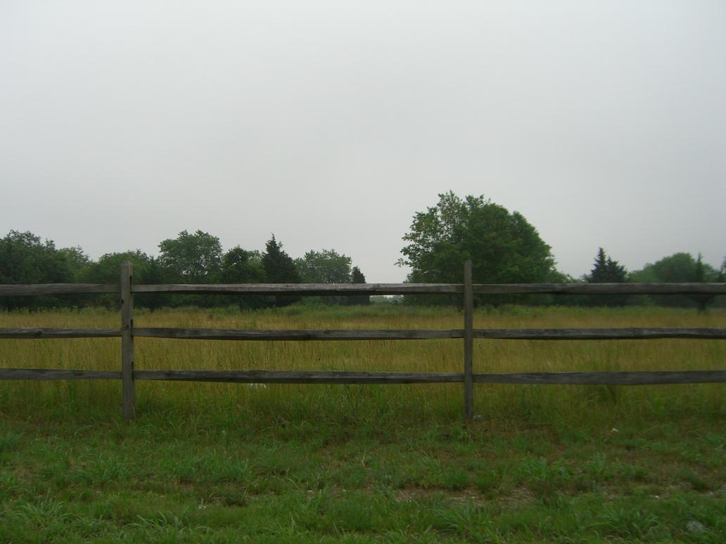 Roadside fence stock by rx on deviantart