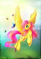 Fluttershy by L1nkoln