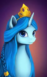 Comission: OC Princess Argenta by L1nkoln