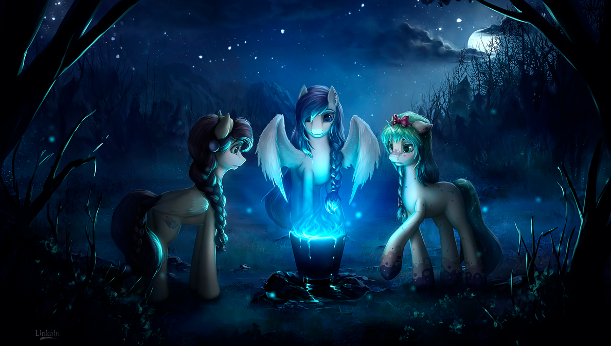 Commission for Sweet-Blasphemy-MLP by L1nkoln