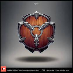 Knight shield