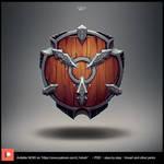 Knight shield by L1nkoln