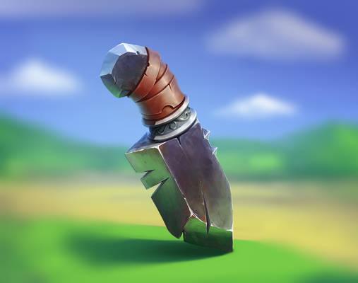 ArtCraft project. Knife