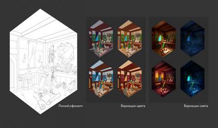 ArtCraft project. Robin's home