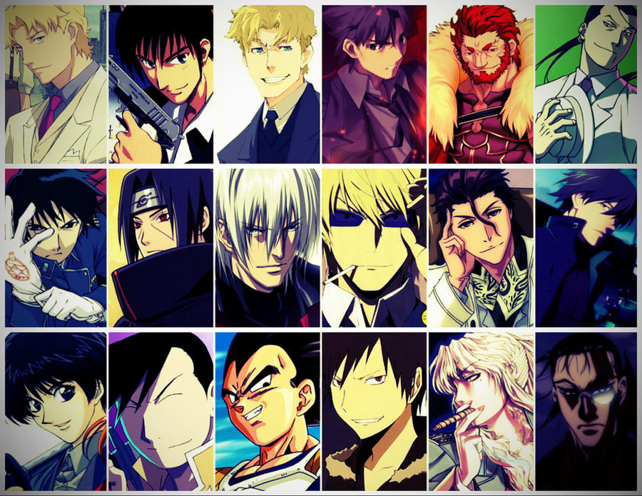 R O D Anime Characters : Badass anime characters by tarek frank on deviantart