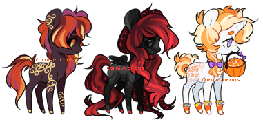 (CLOSED) Halloweeny batch 1 by Carnivvorous