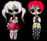 Open - Zombie girls by Carnivvorous