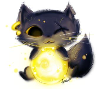Gremalkin the Cat by xtwistedxamayax