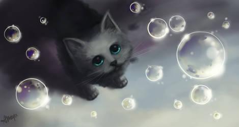 Bubbles Kitten