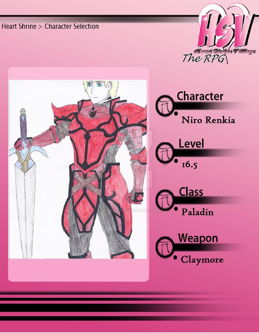 HSV: RPG Niro by NejiRenji15