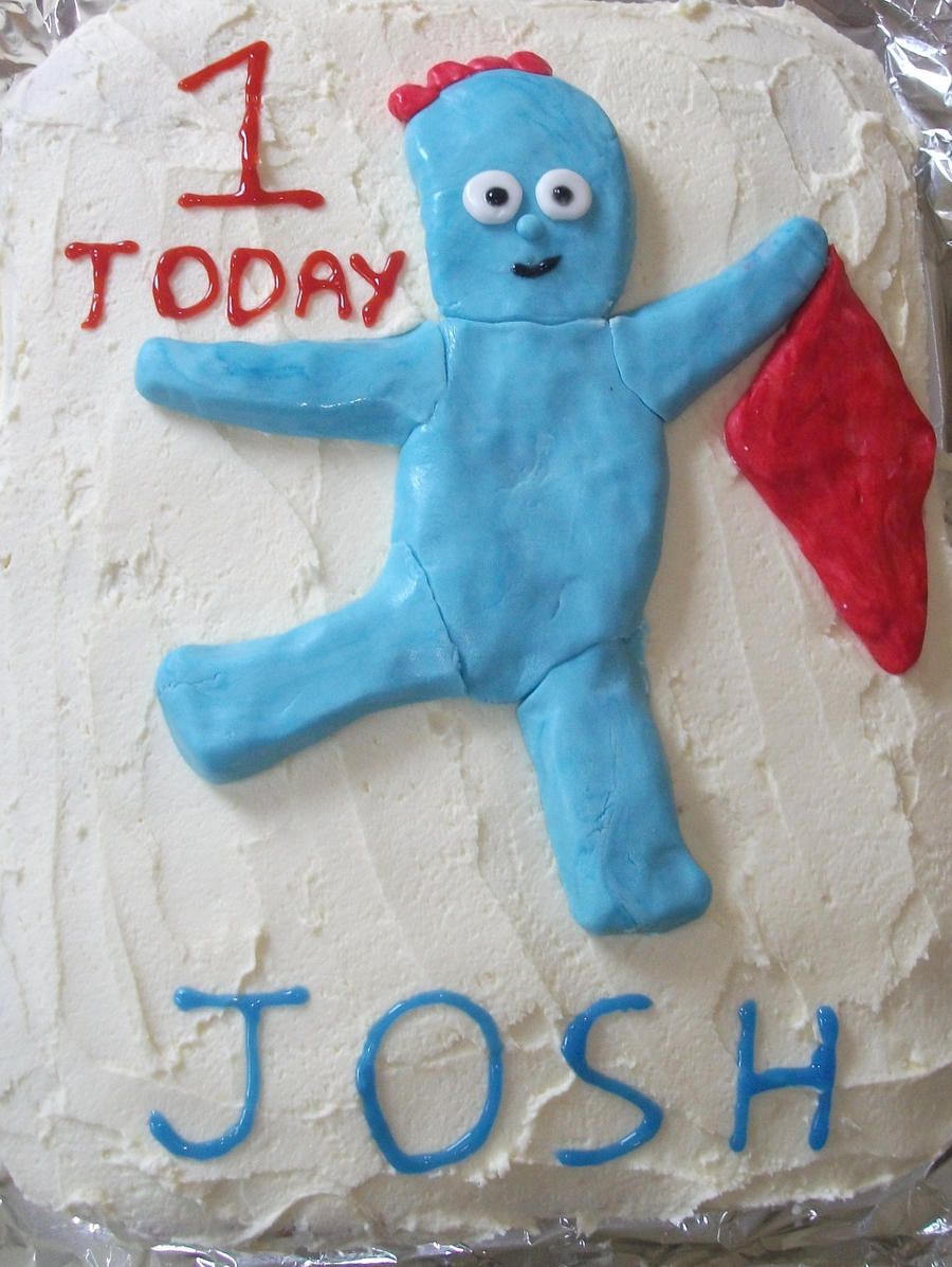 how to make iggle piggle from icing