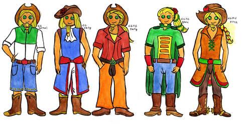 Equestria Boys - Applejack