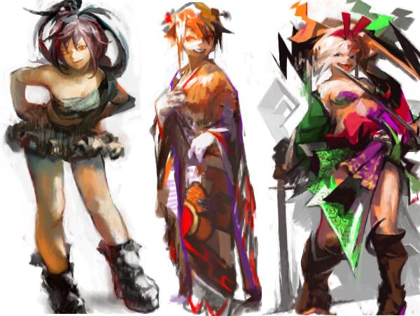 three girls by 8939