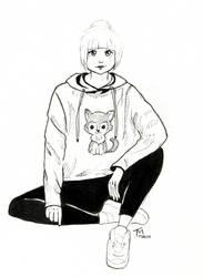 Husky| #6 Inktober