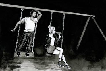 Swing | #9 Inktober