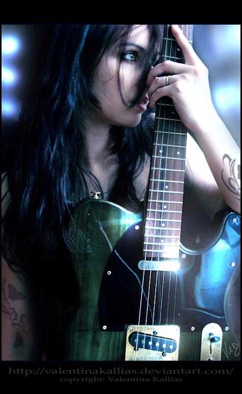 I dreamed I was a rockstar by ValentinaKallias