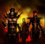 Apocalypse Horsewoman--WAR