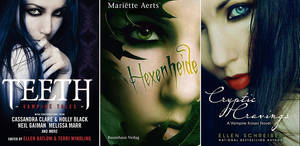 Published Book covers
