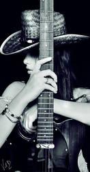 Midnight Cowgirl by ValentinaKallias