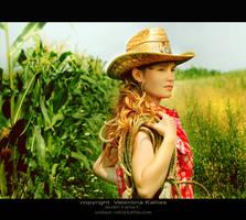 Farm Girl by ValentinaKallias