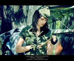 Morning at the barracks-Angela by ValentinaKallias