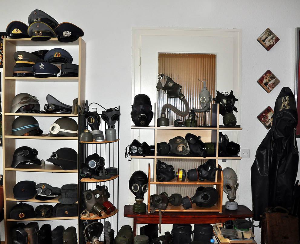 my military headgear collection by ValentinaKallias