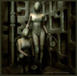 Sisters of Pain by ValentinaKallias