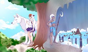 San and Kida: Warrior Princesses