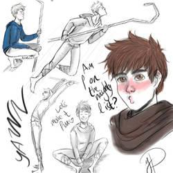 Jack Frost doodles by YayusDerApfel