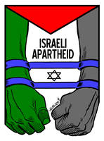 Israeli Apartheid 2 by Latuff2
