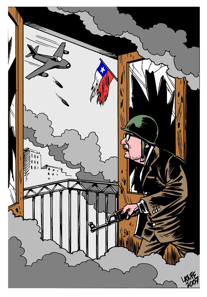 """Résultat de recherche d'images pour """"allende mondea 11 september 1973 cartoon"""""""