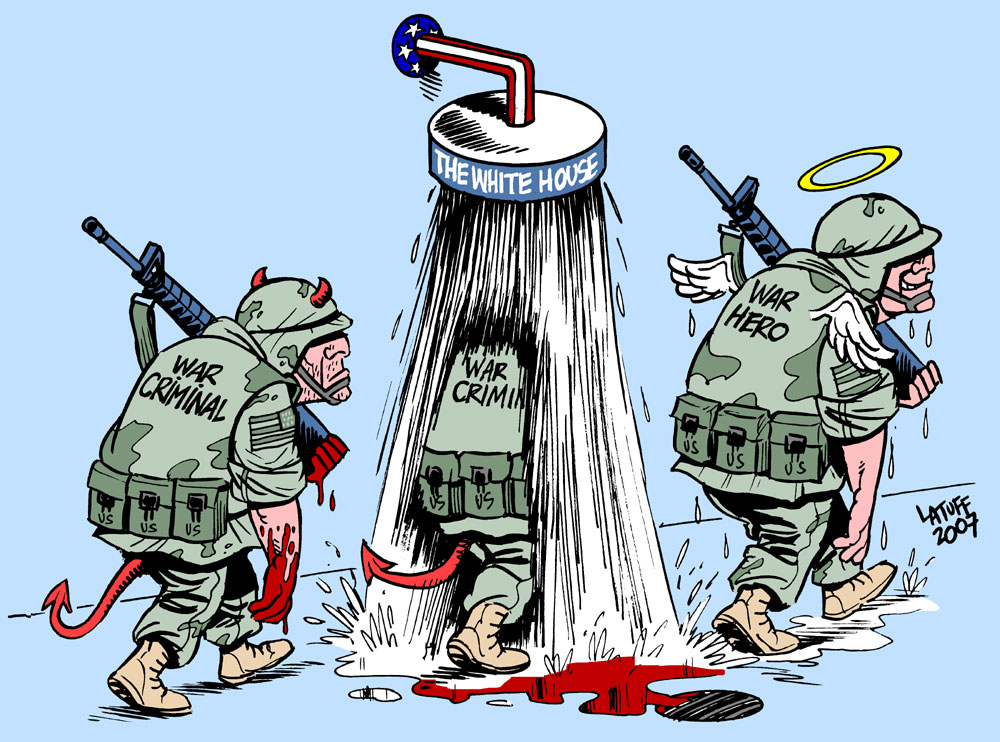 War criminals by Latuff2
