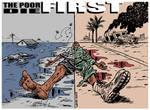 The poor die FIRST