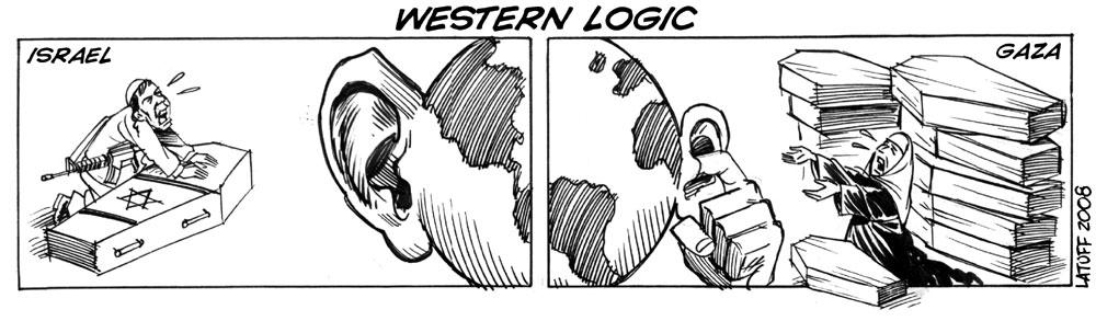 Western logic by Latuff2