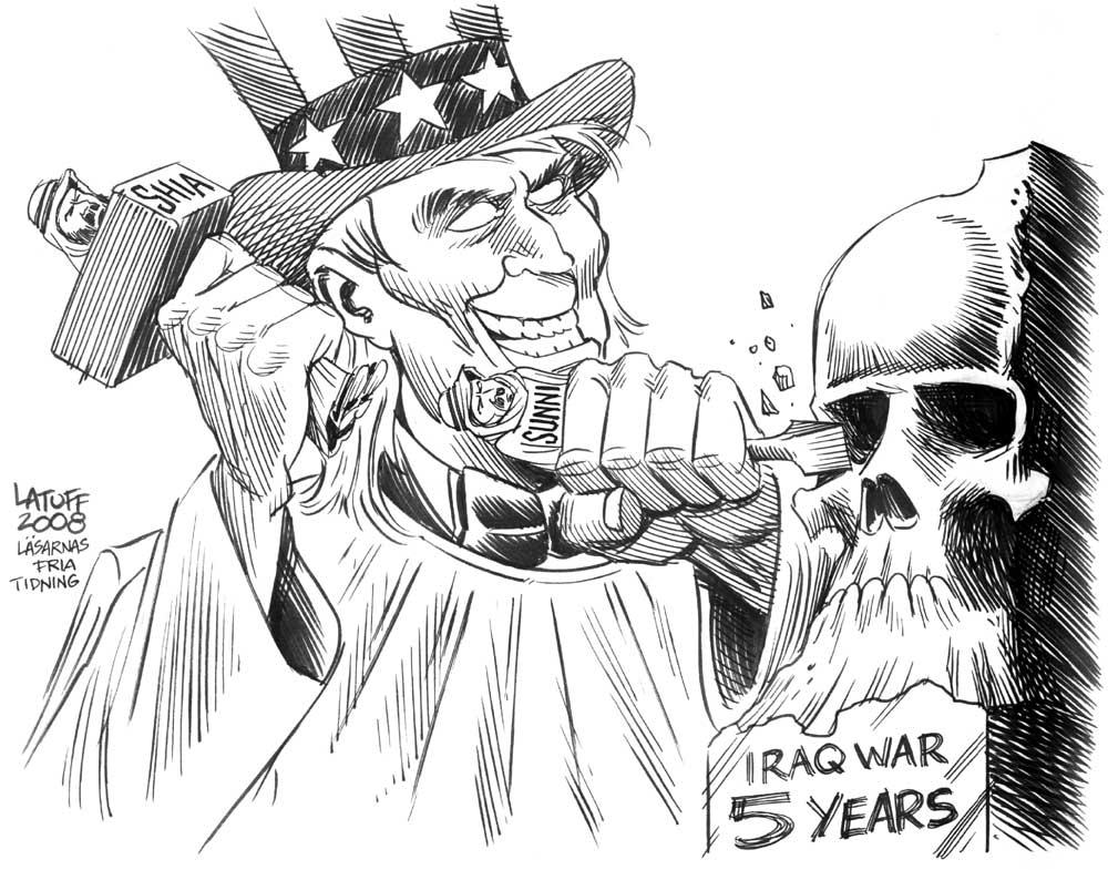 Iraq War 5 years B