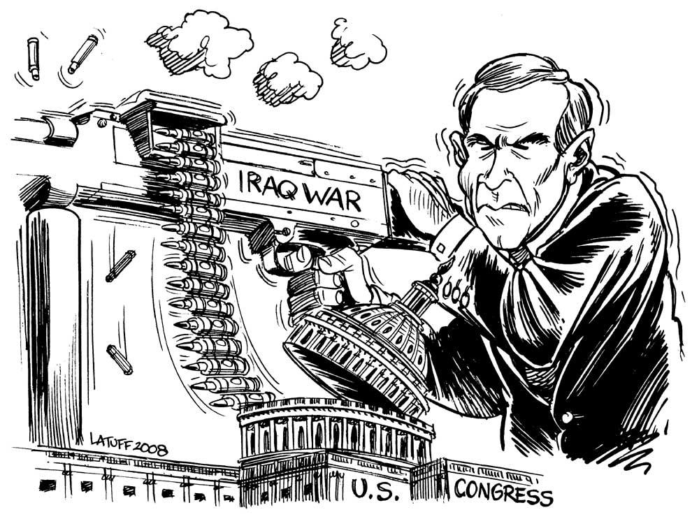 70 billion dollars to fund war by Latuff2