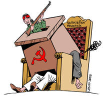Ending near for Nepal monarchy by Latuff2