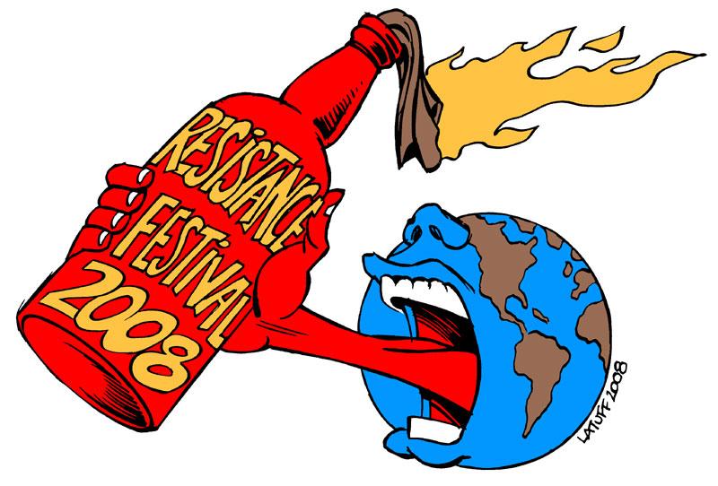 Resistance Festival 2008 by Latuff2