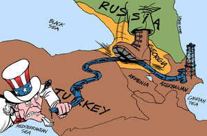 Russia Georgia conflict by Latuff2