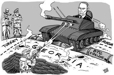 Russia Georgia conflict 2 by Latuff2