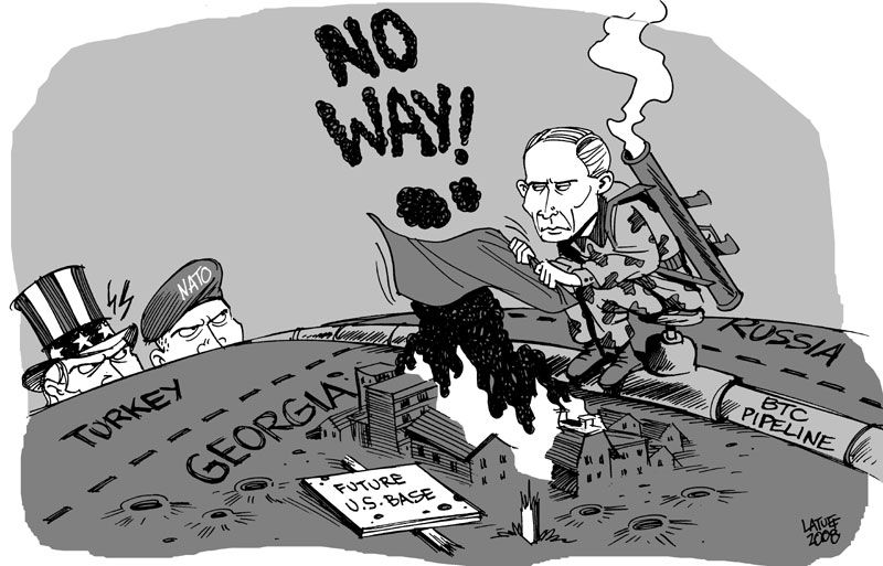 russia georgia conflict In the months preceding the recent russia–georgia conflict there were signs of  brinkmanship between russia and georgia, which increased.