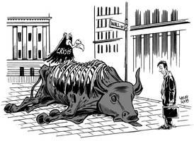 Wall Street crisis 2 by Latuff2