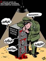 Brazilian dictatorship files by Latuff2