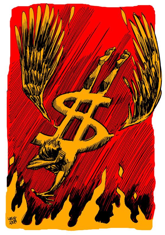 The Falling Capital